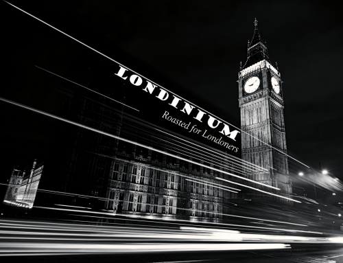 Londinium. A coffee roasted specifically for Londoners.