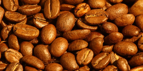 Coffee beans. Medium roast Arabica beans