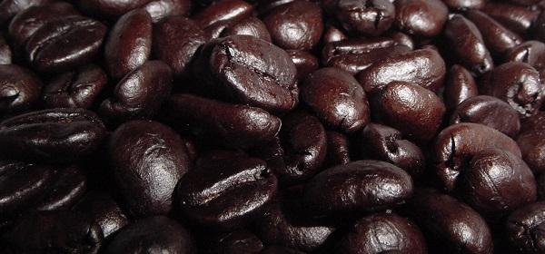 Dark roast beans
